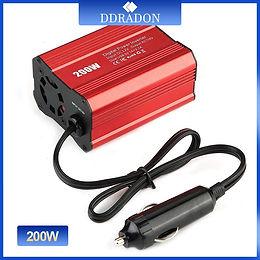 200W Car Power Inverter 12V 220V