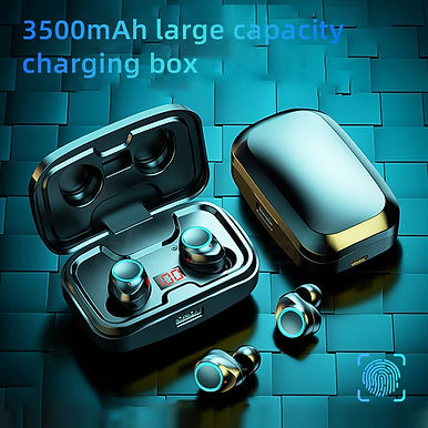 X10 Wireless Bluetooth 5.0 Earphones 9D Stereo 3500mAh Charging Box
