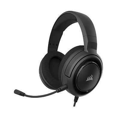 Corsair HS35 Stereo Gaming Headset Built For Pc / Xbox / PS4 - Black