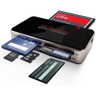 All in One USB Multi Memory Card Reader