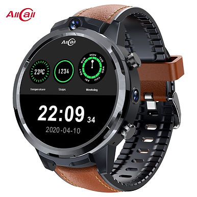 """AllCall GT2 1.6"""" Display Smartwatch With GPS Tracker/ 4G SIM Card Wi-Fi/ Face ID"""