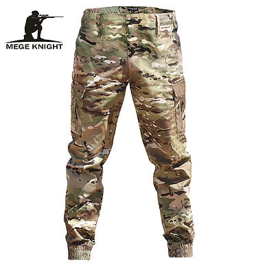 Men Casual Camouflage Jogger Pants