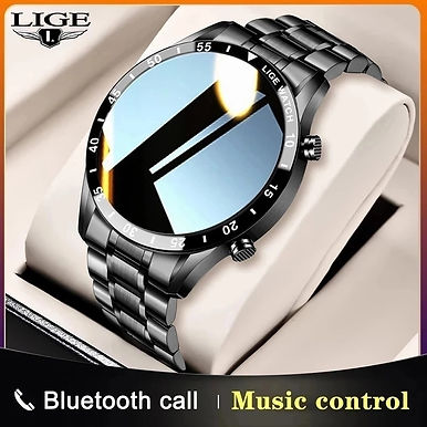 LIGE BW 1.3'' Smart Watch Heart Rate /Blood Pressure Monitoring / Bluetooth Call