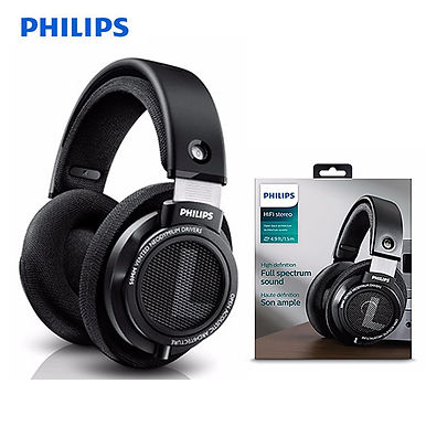 Philips SHP9500 Professional Headphones With Active Noise Cancelling - BLACK