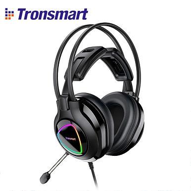 Tronsmart Glary Alpha Gaming Headset With RGB LED Lighting & 3.5mm + USB Port