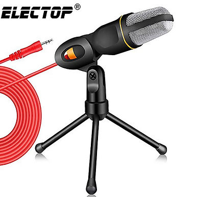 Condenser Microphone 3.5mm Plug With Stereo Mic
