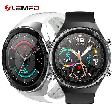 "LEMFO Q8 Bluetooth Call 1.3"" HD Smart Watch/ Multi-Sports/ ECG -Health Tracker"