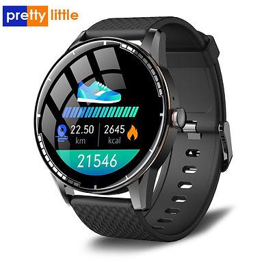 "PrettyLittle H6 Smart Watch 2.5"" Screen Bluetooth Heart Rate /Blood Pressure"