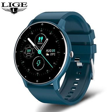 "LIGE Ultra Light 1.3"" Touch Screen Smart Watch Health Fitness Tracker"