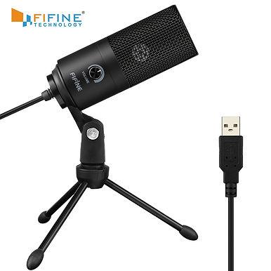 Fifine K669B Metal USB Condenser Microphone