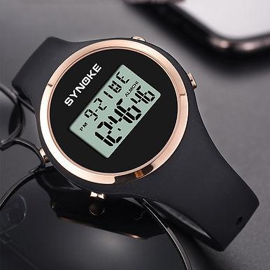 SYNOKE LED Digital Sport Watch - 50meter waterproof