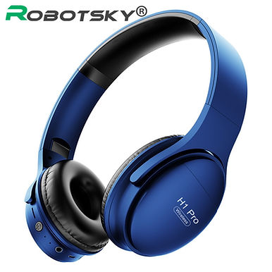H1 Pro Wireless HiFi Stereo Gaming Headset With Mic Support TF Card