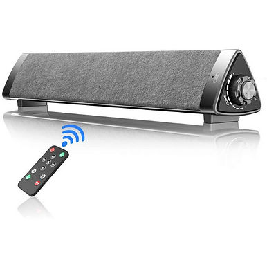 VersionTech Wired & Wireless Bluetooth Portable PC Soundbar
