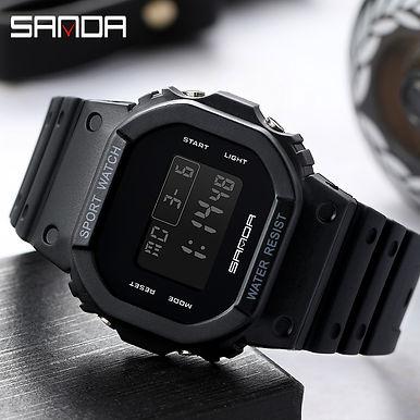 SANDA G Style Digital Sport Watch Waterproof