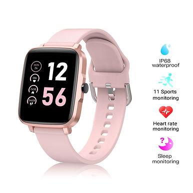 "Grandley F2 1.5"" IP68 Smart Watch Bluetooth Call/ IP68 Waterproof/ Fitness Track"