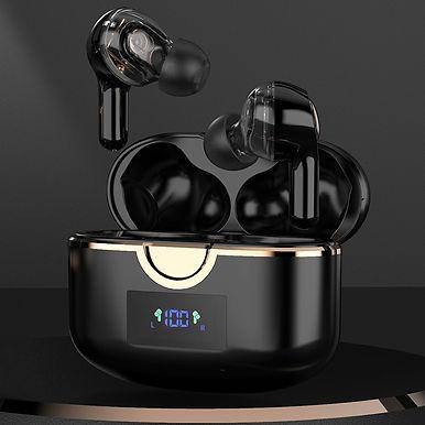 TiYiViRi  With 4 Mics  BluetoothEarphones True Wireless Stereo Bass