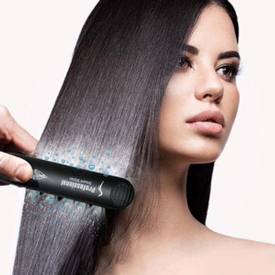 Beauty Star Professional Steam Hair Straightener Ceramic Vapor