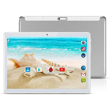 Google Android 10Inches Tablet 4GB RAM 128GB ROM Cellular / Wi-Fi - Silver