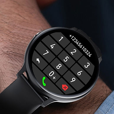 "I11 Bluetooth Call 1.3"" HD Smartwatch Fitness Bracelet / Health Monitor"
