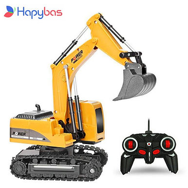 Hapybas Car Alloy and Plastic Excavator Toys For Kids