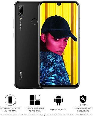 Huawei P Smart 64 GB 6.21-Inch 2K FullView Dewdrop SIM-Free (BLACK)