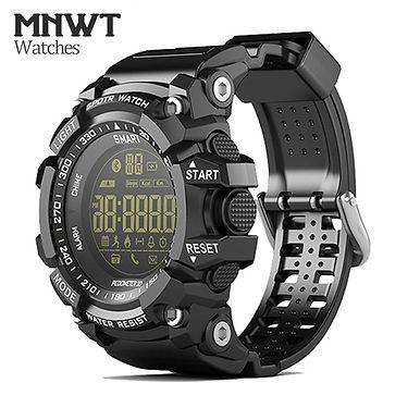 Mens Sport Watch 5ATM Waterproof Fashion Digital