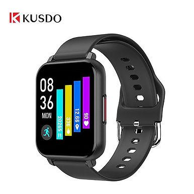 KUSDO 1.55inch Smartwatch IP67 Waterproof Up to 30 days Battery Standby