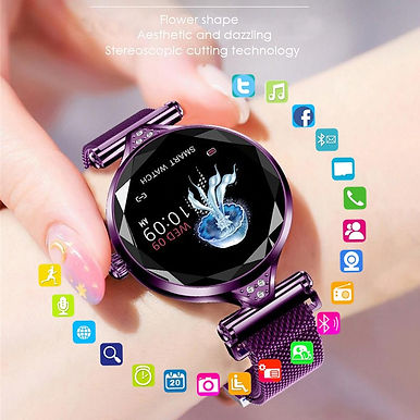 "HESTIA 1.1"" Display Smart Watch IP68 Waterproof Multi-Sports Modes"