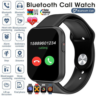 Naisidier 1.54inch-IPS Touch Screen Smart Watch / Bluetooth Call / Heart Rate