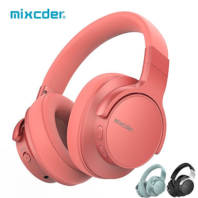 Mixcder E7 Wireless Bluetooth5.0 Headphones Active Noise Cancelling Mic