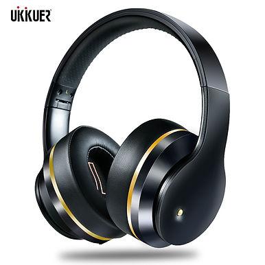 UKKUER EL528 ANC ANC Wireless Bluetooth Headphones -Hi-Res Deep Bass