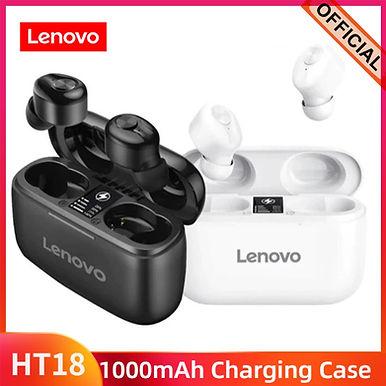 Lenovo HT18 True Wireless Bluetooth Earphone Stereo HD With Mic