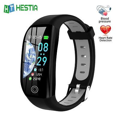 "F21 GPS Smart Bracelet Health Tracker/ Pressure Measurement - 1.14"" Touch Screen"