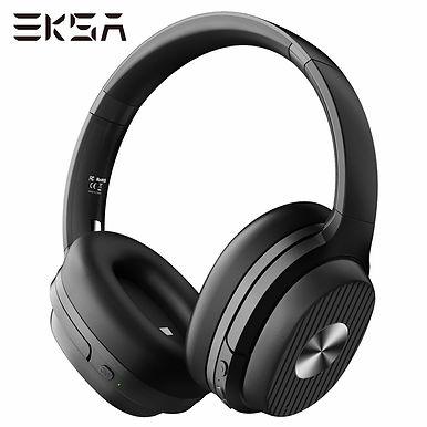 EKSA E5 Over-Ear Wireless Bluetooth Headphones Active Noise Cancelling - 40Hrs