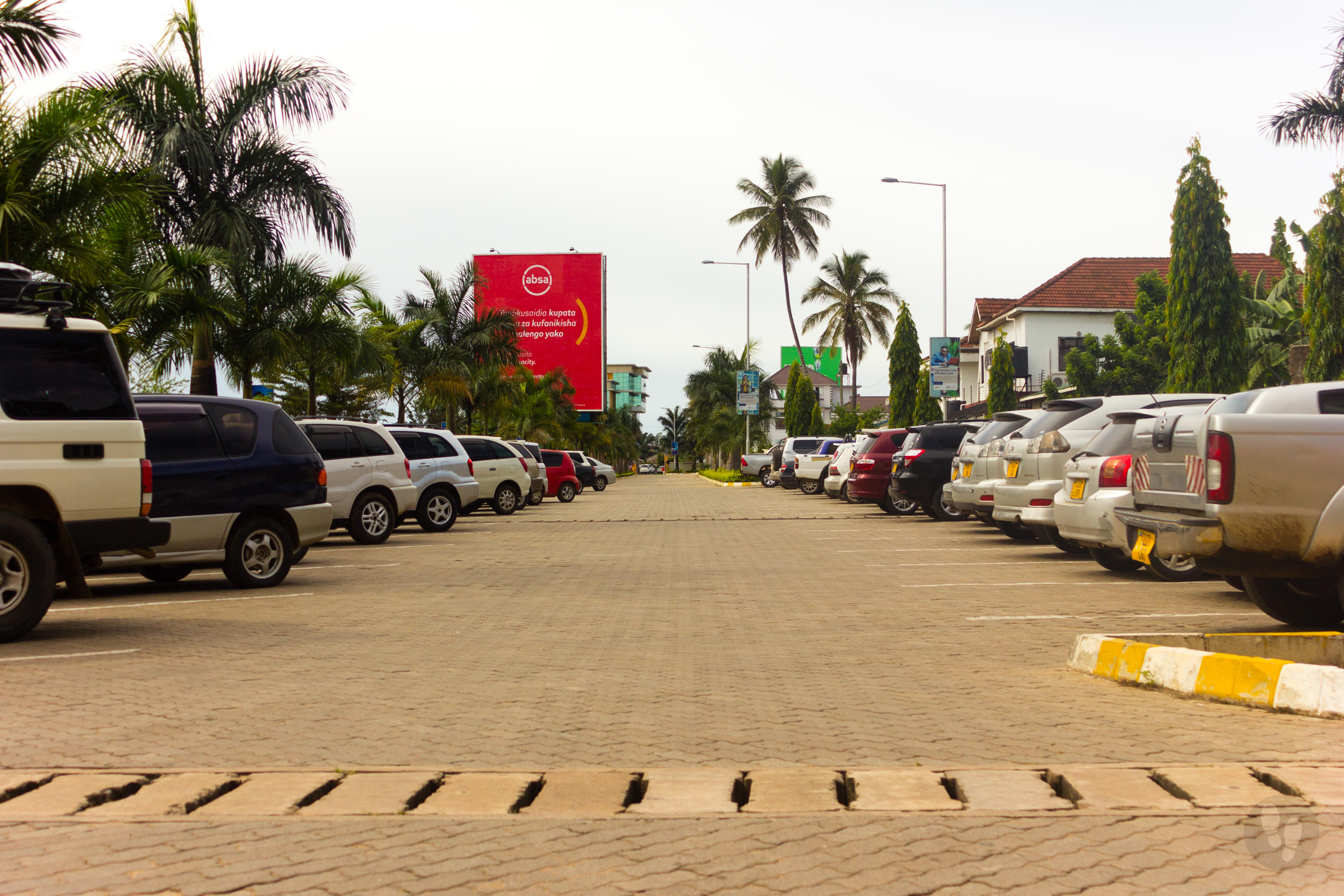 Ghana Gate Parking Lot