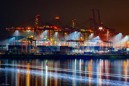 Portrait of a Vancouver dock