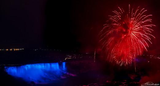 Niagara Falls under fire