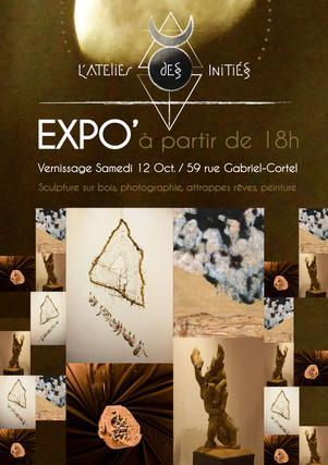 Exposition L'Atelier des Initiés 2019