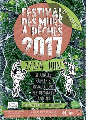 Festival des Murs à Pêches - 2017