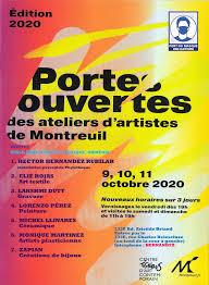 Porte ouvertes des ateliers d'artistes de Montreuil - 2020