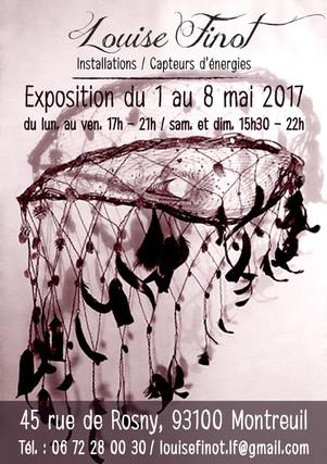 """Exposition """"45"""" Louise Finot 2017"""