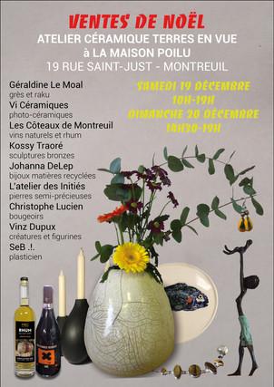 Vente de NOËL Montreuil 2020