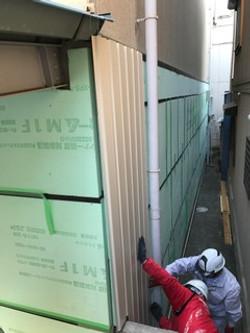 外壁施工 2
