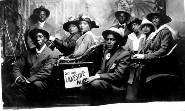 Pauline Johnson and  sisters and husbands
