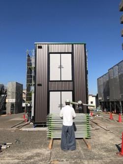 外壁施工 4