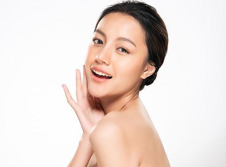 beautiful-young-asian-woman-touching-sof