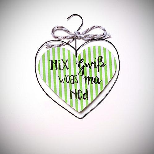 Nix gwiß-Herzerl