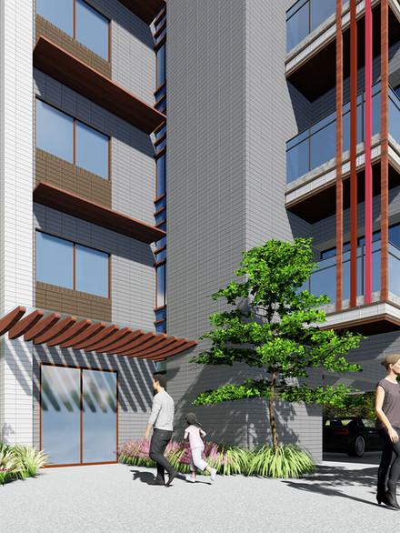 台南市新市區信義街公寓住宅                  (預定2021年中公開)