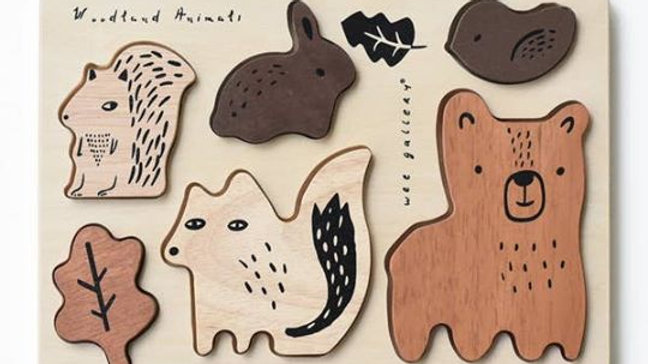 Animal Puzzle Boards