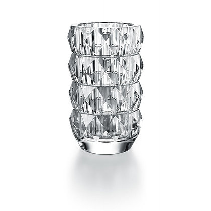 LOUXOR ROUND VASE (CLEAR) by BACCARAT